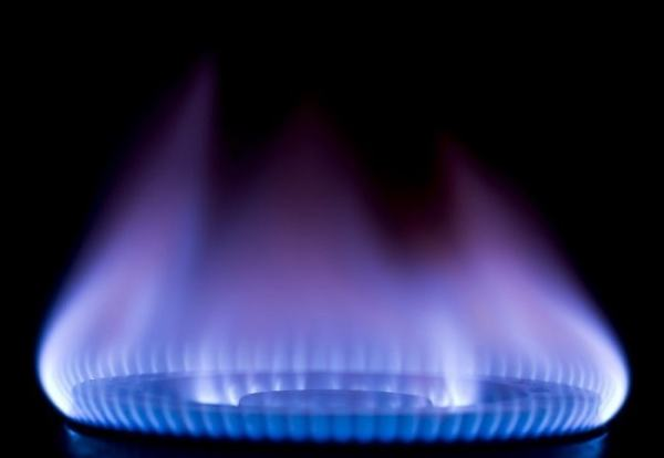 A gas flame. Image credit imperial.ac.uk
