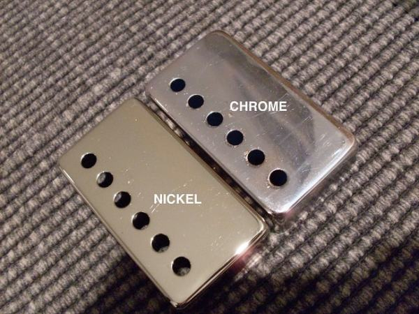 Nickel and Chrome plate. Image credit 1911forum.com