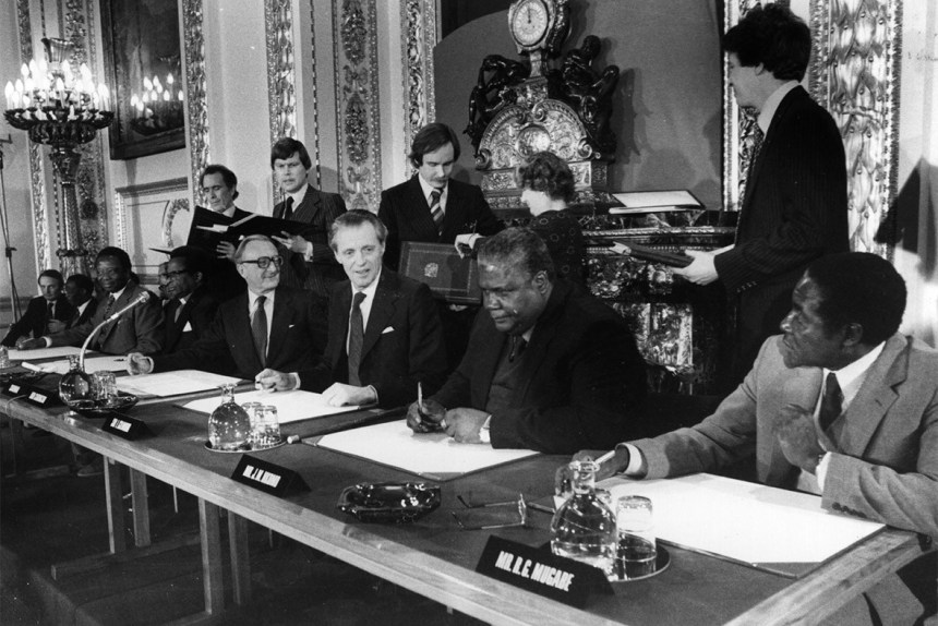 The Lancaster House Conference And Independence September 1979 To