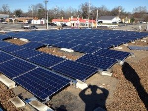 LightWave Solar - 24kW at Janney & Associates CPAs in Smithville, TN