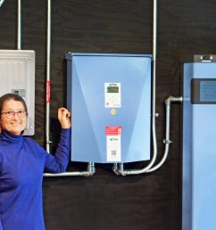 two homeowners stand by their home battery backup power source a maine made battery [ 1500 x 1000 Pixel ]