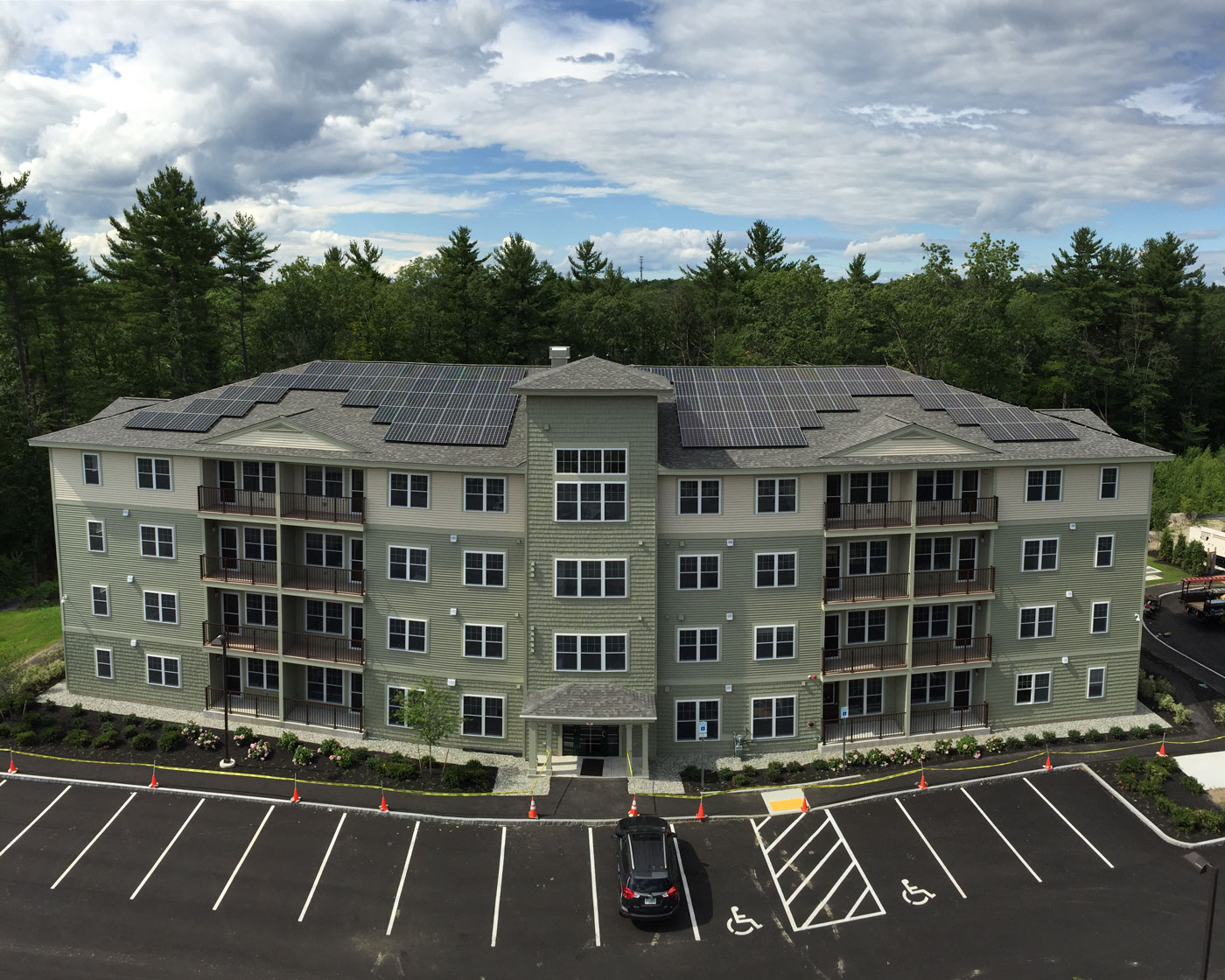 Avesta Meeting Place  Exeter New Hampshire Solar