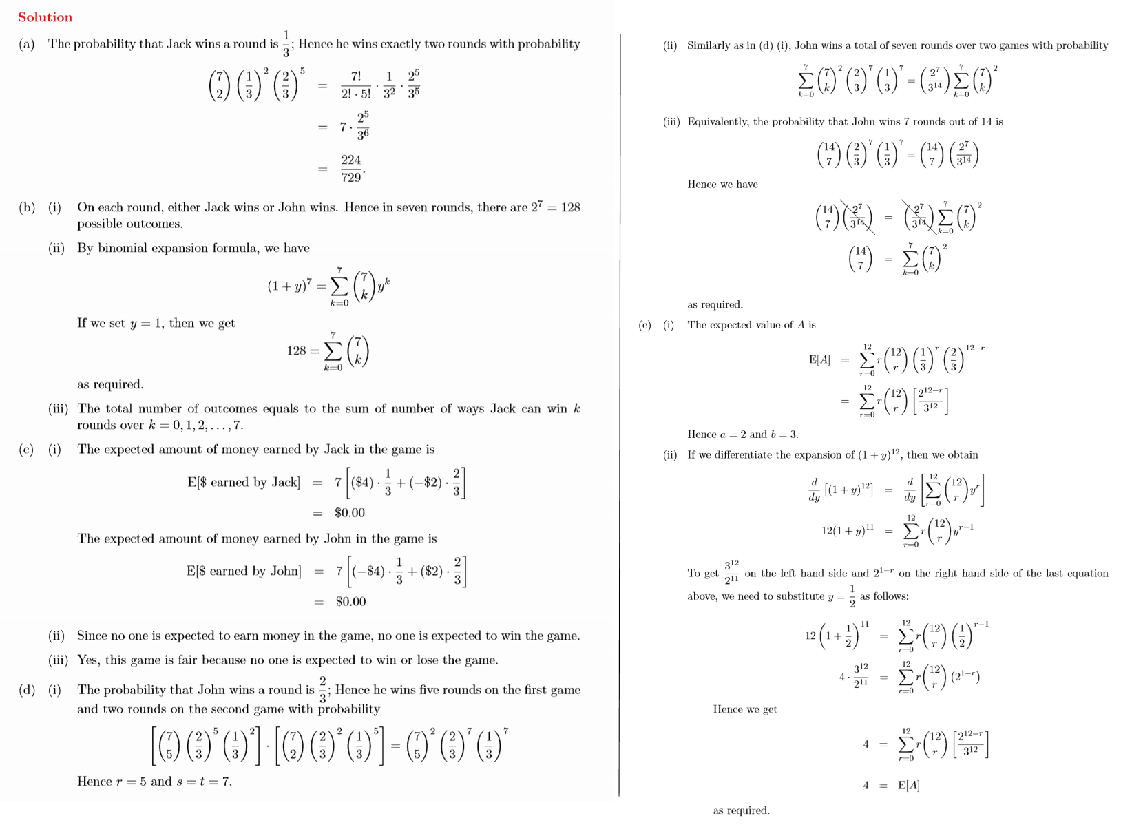Ib Maths Hl Questionbank