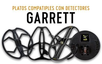 Platos compatibles para detectores Garrett