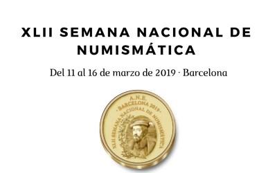 PROGRAMA DE LA XLII SEMANA NACIONAL DE NUMISMÁTICA