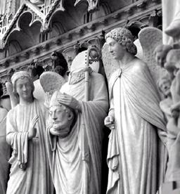 Esculturas góticas francesas