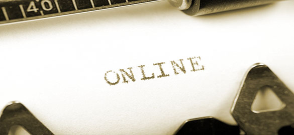 whats difference online writing1