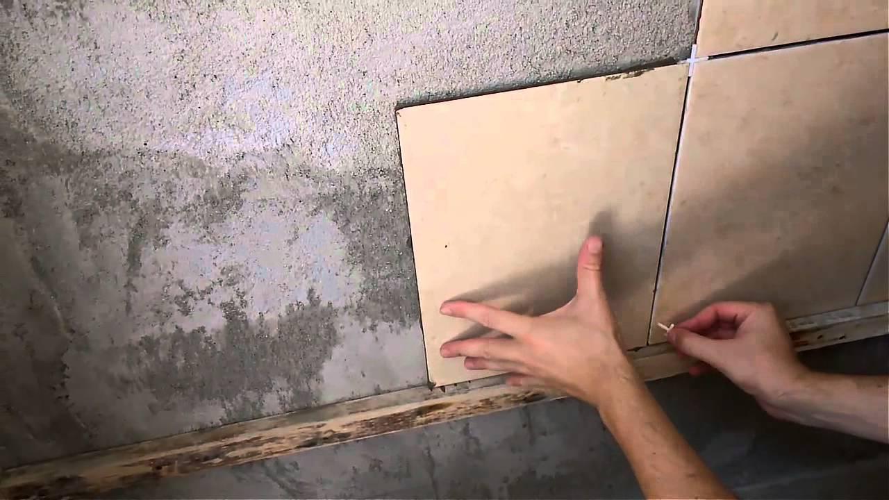 Cmo colocar azulejos en la pared de un bao  Revista