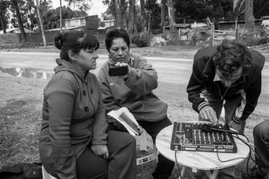 Programa sobre el Día de la Mujer. Vecinas cuentan sus problemáticas en el barrio.