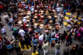 La Llamada de Patrimonio es uno de los eventos culturales más importantes de Uruguay. En la edición del 2017 desfilaron más de 30 comparsas.