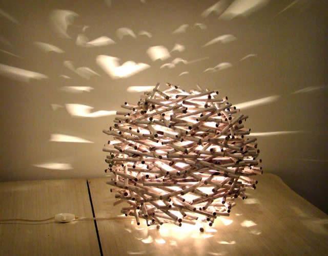 10 Luminrias Artesanais Espetaculares  Revista Artesanato