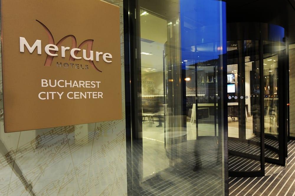 Mercure Bucharest City Center - Entrance