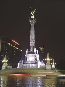 La Columna de la Independencia Un ngel que guarda
