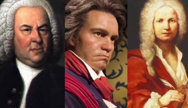 Toda a obra de Bach, Beethoven e Vivaldi para ouvir on-line ou download