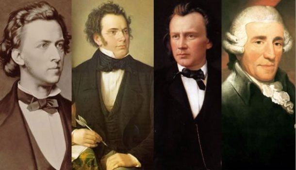 Toda a obra de Chopin, Schubert, Brahms e Haydn para ouvir on-line ou download