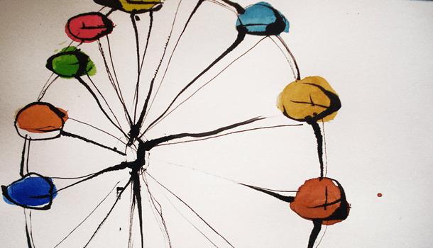 A vida é mesmo uma roda gigante