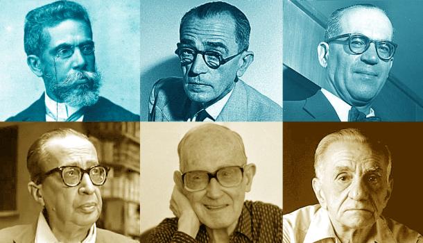 Os três maiores poetas e os três maiores prosadores do Brasil