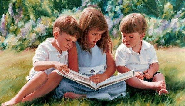 Seis mil livros infantis raros para leitura online gratuita e impressão