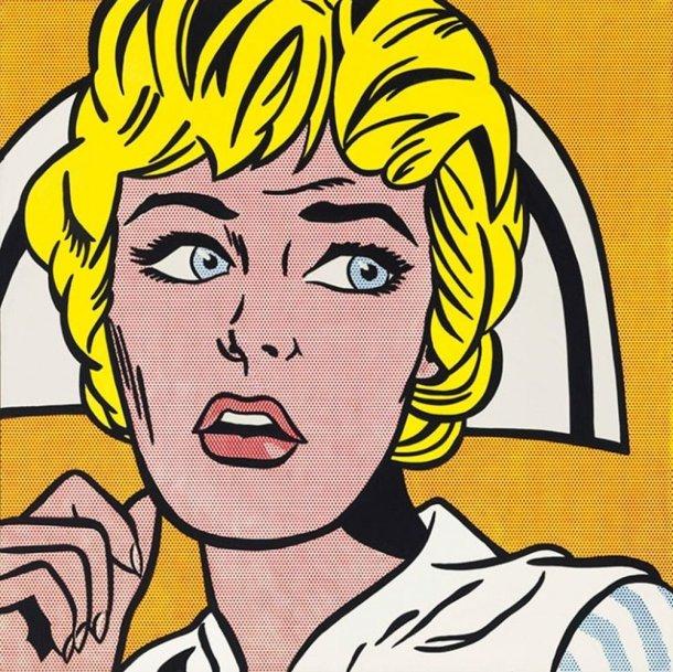Nurse (1964), Roy Lichtenstein