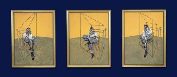 Três Estudos de Lucian Freud (1969), Francis Bacon