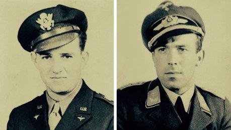 A emocionante história do piloto de caça alemão que salvou tripulação americana