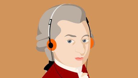 Toda a obra de Mozart em ordem cronológica