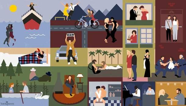 Desafio: quantos filmes você consegue identificar nesta imagem?
