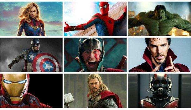 Todos os filmes da Marvel, classificados do pior ao melhor