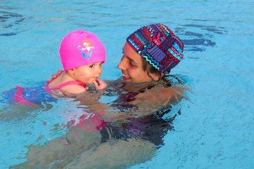 El lunes 27 de noviembre arrancaron los cursos de natación.