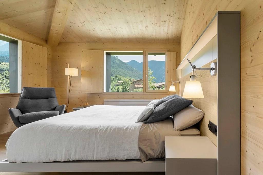 Diseño vivienda unifamiliar. Dormitorio.