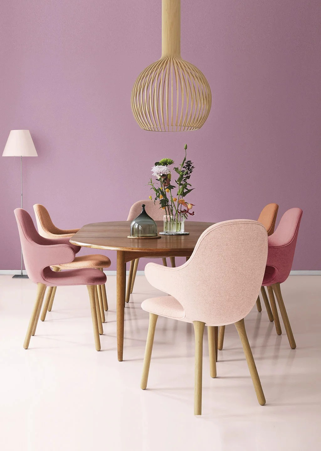Tendencias color 2019. Iris Mauve de Valentine.