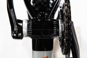 Identificación en el eje del pedalier