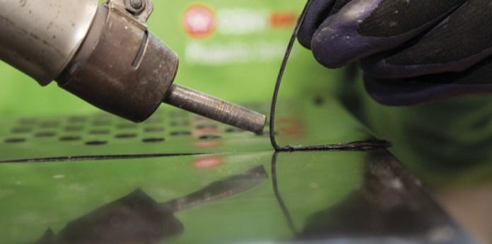 Reparación de plásticos mediante soldadura