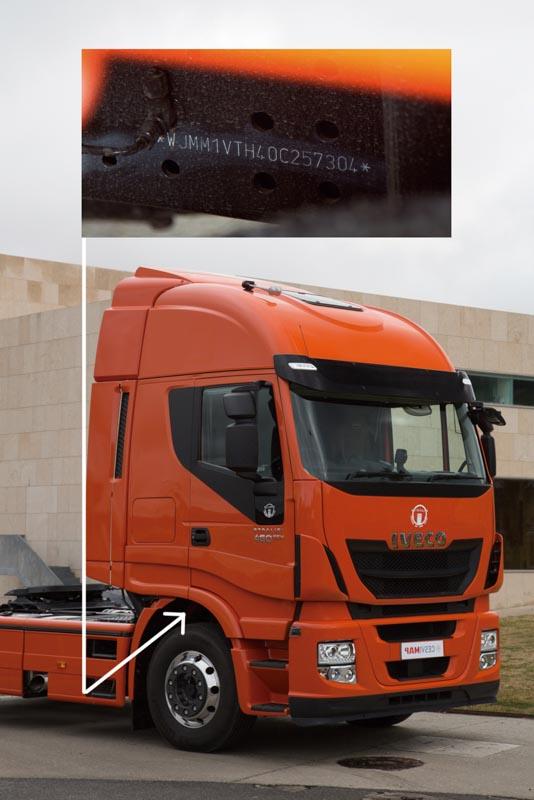 Fabricante IVECO,modelo Strañis,Cabina HI-WAY,460 CV , EEV vehículo ecológico avanzado