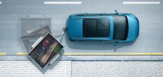 Sistema ayuda al aparcamiento con remolque