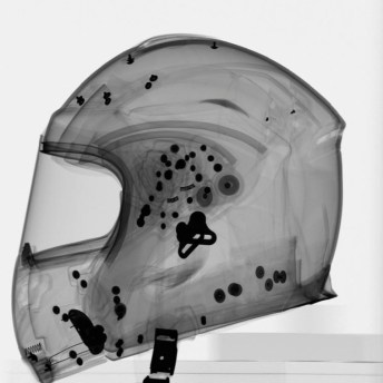 Radiografía de un casco