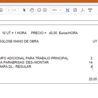 CESVIMAP_peritos_tiempo de sustitución de un parabrisas de un Ford Mondeo