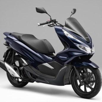 Honda PCX con hibridación suave