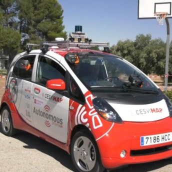 Proyecto de investigación sobre el coche autónomo con Incia y la Universidad Carlos III