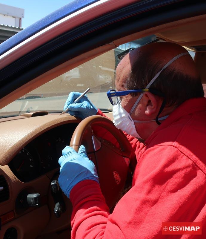 EPI empleados en la reparación