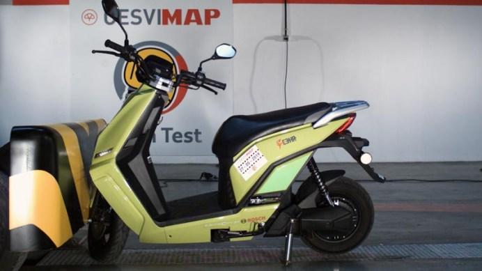 Crash test de motocicleta CESVIMAP