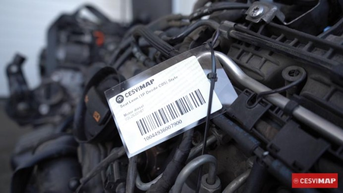 Identificación y etiquetado del recambio