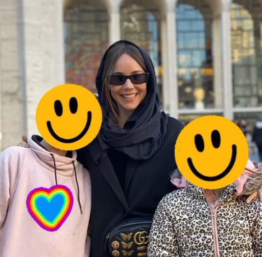 Camila Sodi and children