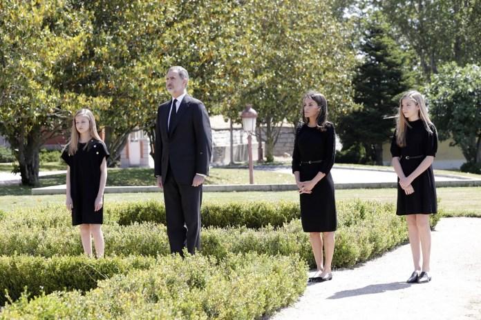 royal family of spain infanta sofia, queen letizia