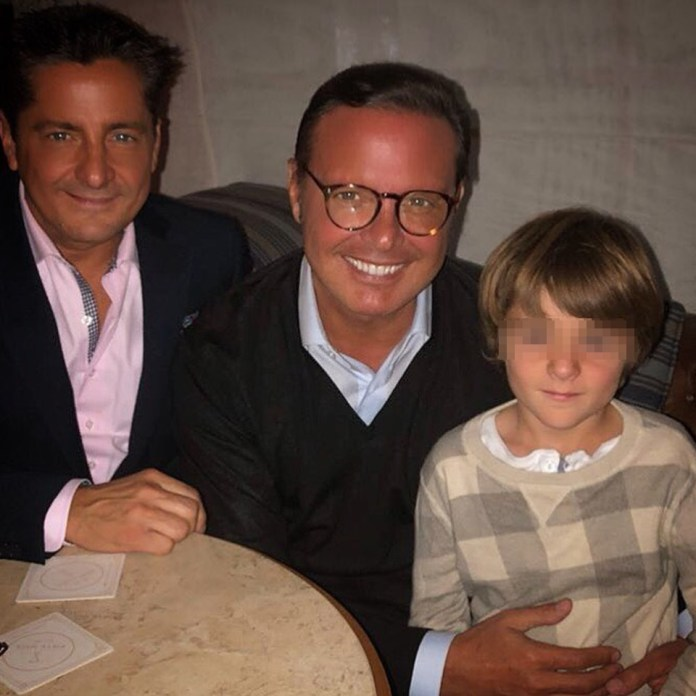 Luis Miguel and nephew