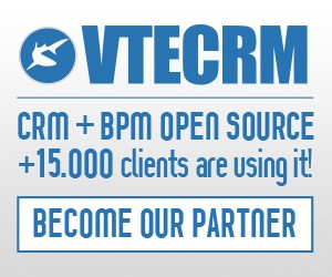 BPM+CRM Software for marketing, sales and service