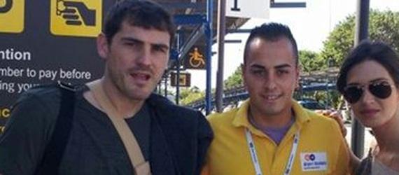 sara carbonero Sara Carbonero celebra su 29 cumpleaños con Iker Casillas en Tenerife