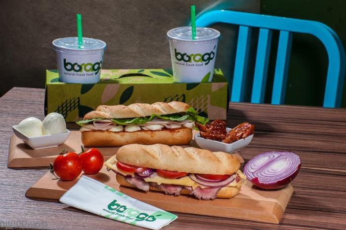 Boragó Natural Fresh Food