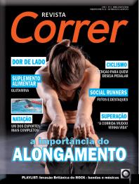 Revista Correr 3 - Capa Alongamento Corrida