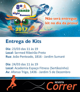 Entrega de Kit - Corrida Sermed 2017